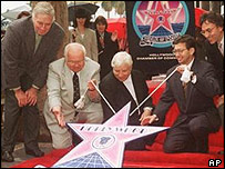 Bernstein on Hollywood Walk of Fame