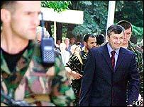 South Ossetia leader Eduard Kokoity