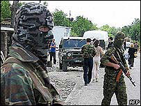 South Ossetian special forces