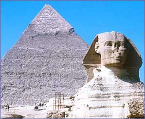 The Ancient Pyramids in Egypt