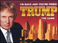 Donald Trump board game cover