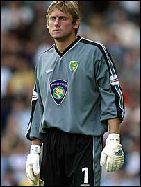 Norwich goalkeeper Robert Green