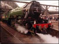 Flying Scotsman locomotive