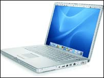 15 inch Apple Powerbook, Apple