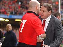 Steve Hansen bids farewell at the Millennium Stadium
