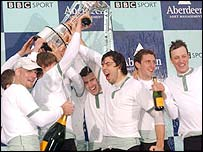 Cambridge won the 150th race in 2004