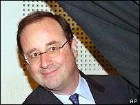 Socialist leader Francois Hollande
