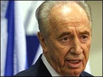 Israeli Labour Leader Shimon Peres