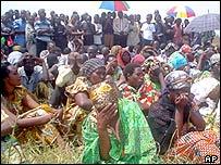 Mourning Tutsis