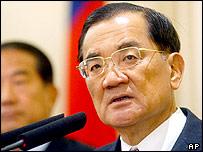 KMT chairman Lien Chan
