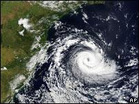 Ciclón Tropical en la costa sureste de Brasil.