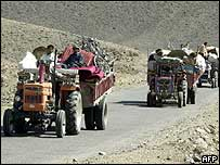 Locals return home as the army operation ends