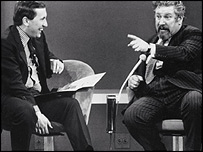 Sir Peter and David Frost