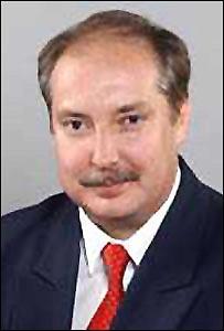 Hungarian politician Peter Kiss