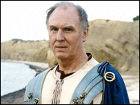 Tim Piggott-Smith as Pliny in BBC's Pompeii: The Last Day