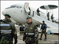 Tropas de la OTAN en Kosovo.