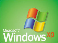 Windows XP Home logo, Microsoft