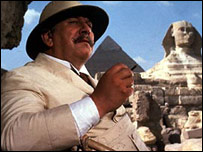 Sir Peter Ustinov in Death on the Nile