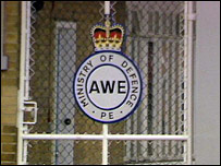 Aldermaston Atomic Weapons Establishment