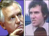 Peter Hain, today and back in the early 1970s