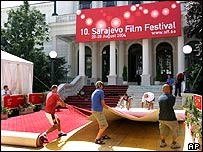 Sarajevo Film Festival in the National Theatre, Bosnia