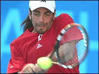 Nicolas Massu of Chile