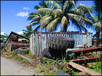 Industrial waste on Suva, Fiji Islands, Randolph R Thaman