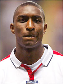 Aston Villa defender Jlloyd Samuel