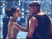 Screenshot of Chronicles of Riddick the film