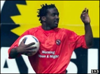 Dundee United striker Jason Scotland