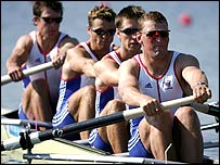 The British coxless fours