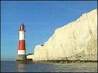 Beach Head cliffs