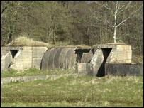 Air raid shelter at St Angelo