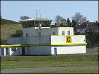 The control tower at St Angelo