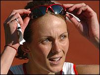 British heptathlete Kelly Sotherton
