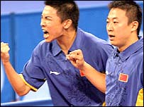 Chen Qi and Ma Lin of China