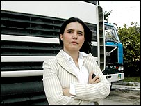 Laetitia Banzet, director of the Tangier branch of British logistics company Tibbett and Britten