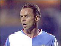 Blackburn striker Paul Dickov