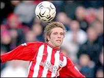 Southampton midfielder Anders Svensson