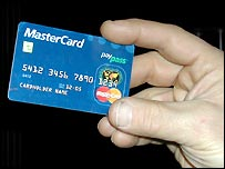 RFID Mastercard mock-up
