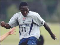 Ghanaian-born Freddy Adu