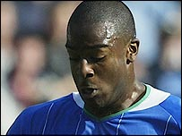 Wigan striker Nathan Ellington