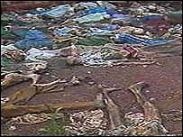 Rwanda massacre victims