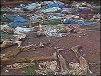 Rwanda massacre victims