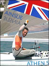 Ben Ainslie won sailing's Finn class