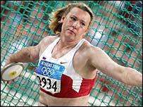 Russia's Natalya Sadova