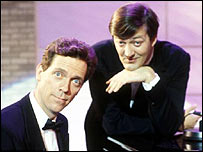 Stephen Fry and Hugh Laurie in A Bit of Fry and Laurie
