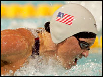 American swimmer Jenny Thompson