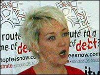 Mandy Telford, NUS president