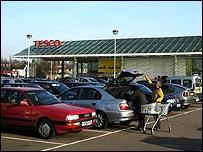 Car park, BBC